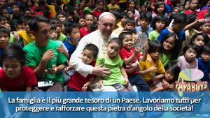 Papa e famiglia