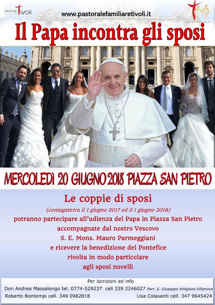papa francesco 20 giugno 2018